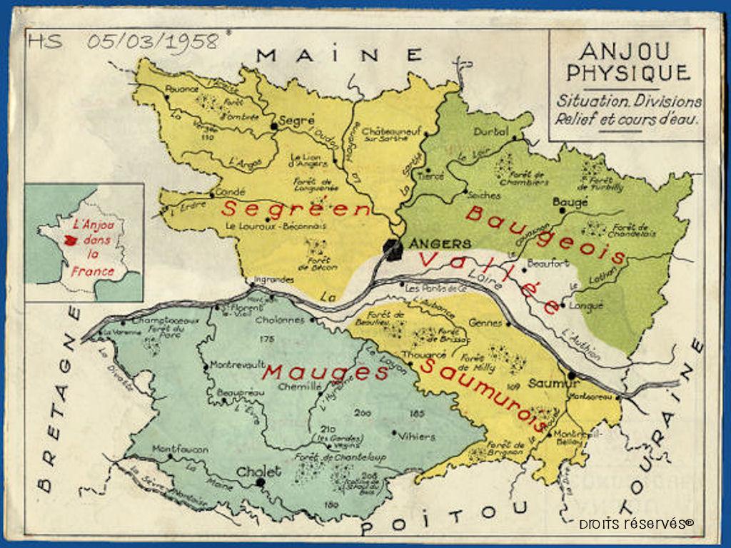 Les mauges territoire thymologie les mauges en - Port autonome du centre et de l ouest ...